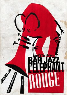 I made this jazz like poster for a party at a fake jazz bar (my home). I just really wanted to make a poster. Music Illustration, Graphic Design Illustration, Illustrations, Musikfestival Poster, Typography Poster, Jazz Art, Jazz Music, Propaganda Art, Jazz Festival