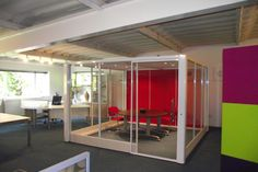 Acoustic Meeting and Working Pods www.broadstock.co.uk
