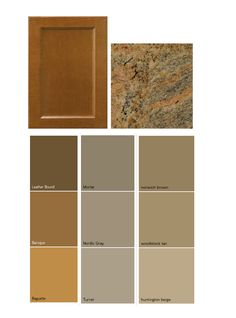 Match a paint color to your cabinet and countertop | Interior paint on