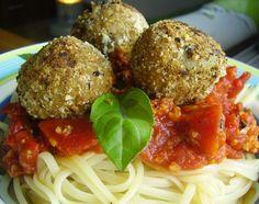 Cantinho Vegetariano: Almôndegas de Berinjela (vegana)