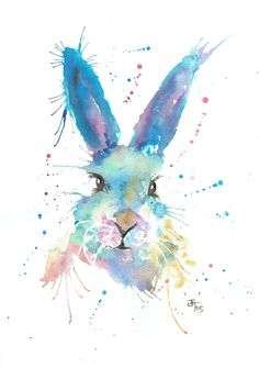 Image of Mr Bunny Poster Print