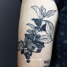#bianicon #tattoos #coffee #black