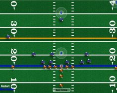 2016 version on 4th and Goal allows players to select their own team colors. Play American football so huddle up. You can select the opponent as well. Looking for a real challenge? Then play on Hall of Fame mode. #americanfootball #gridiron #CountdowntoKickoff  #superbowl #Fanatics #nfl #footballplays