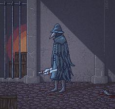 insanelygaming:  Bloodborne Pixel AnimationCreated byLevi Ceccato