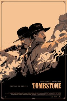 "Tombstone Movie Poster 24x36/"""