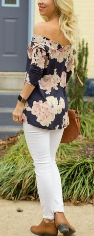 The Perfect Off the Shoulder Top for Spring – CS Gems