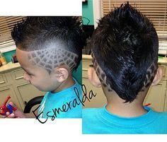 Spiderman Haircut