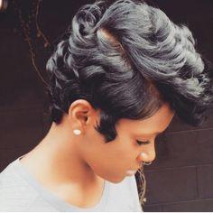 Her hair lools so healthy