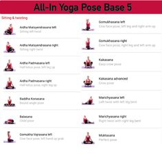 All-in Yoga pose base page 5
