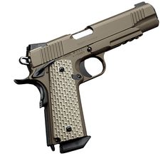 Kimber 1911 Desert Warrior - Based on specialized pistols built for United States Marines assigned to Central Command.