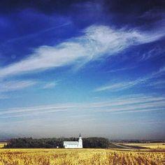 A splendid day in rural Pick City, North Dakota. More instagram Midwest moments: http://instagram.com/midwestlivingmag
