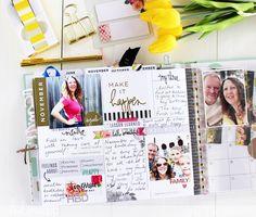 Heidi Swapp Time Flies Memory Planner