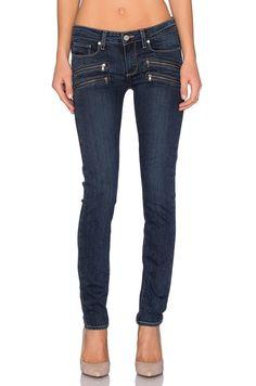 $239 NEW Paige Denim Edgemont Mid Rise Ultra Skinny TRANSCEND Fabric, Amaris 31 #paigedenim #ppd #paigejeans #skinnyjeans #boutiquedenim
