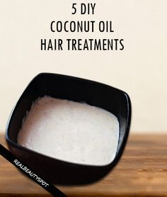5 Best DIY Coconut oil hair treatments for super shiny and soft hair. Helps in…