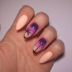 28 pretty playful nail designs to look cool in summer easy purple nails. Sexy Nail Art, Sexy Nails, Cool Nail Art, Cute Nails, Spring Nail Art, Summer Acrylic Nails, Summer Nails, Simple Nail Art Designs, Cute Nail Designs