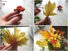 Осенние поделки своими руками для малышей для начинающих мастер-классы. Фото №11