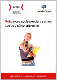 Adolescencia y sexting: Guía / #TuitOrienta #familias #educajccm #educacion / ~ Orienta2