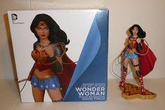 Wonder Woman w Lasso Art of War Figurine Statue Limited Edition DC Comics Figure