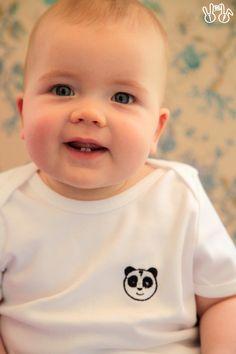 Tshirt Panda - collection Rainbow-drops - Tigger&Pepper
