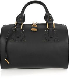 Chloé Aurore Leather Duffle Bag Style Duffels Totes