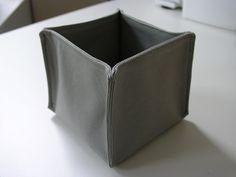 Aprenda a fazer caixinhas de tecido organizadoras #diycarápida em www.diycore.com.br