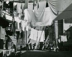 André Kertész :: La Boca neighborhood, Buenos Aires, ca. 1962