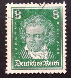 Ludw. Van Beethoven Germany Music Notable by PassionGiftStampArt
