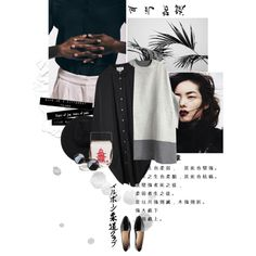 Без названия #213 by newn on Polyvore featuring Acne Studios, Tsumori Chisato and Gladys Tamez Millinery