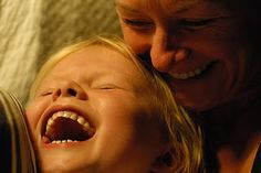 Nothing sweeter than a child's laughter