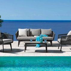 Arredi Esterni Archivi - Pagina 5 di 5 - GialloSun Outdoor Living, Outdoor Sofa, Outdoor Furniture, Outdoor Decor, Grey Cushions, Cancun, Armchair, Lounge, Design Inspiration
