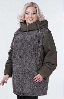 Женские куртки больших размеров: купить демисезонные, весенние, осенние, зимние куртки для женщин