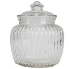 Vintage Collection Ridged Jar - Dunelm Mill £3.99 Guest Bathrooms 1a6c119dd