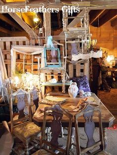 Craft Fair Booth Display Ideas | Craft Show Booth Ideas / Booth Display by hfgifts, via Flickr