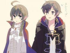 Fire Emblem Awakening: (m) Morgan & Nah by Mejiro