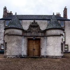 Leith Hall Back Entry - (Huntly, Aberdeenshire, Scotland)