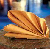 pliage serviette ailes d'ange