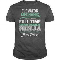 Awesome Tee For Elevator Mechanic #fashion #T-Shirts. SAVE  => https://www.sunfrog.com/LifeStyle/Awesome-Tee-For-Elevator-Mechanic-144366364-Dark-Grey-Guys.html?60505