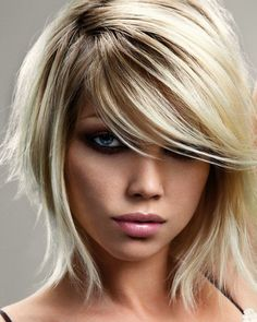 Short-edge bob hairstyle.