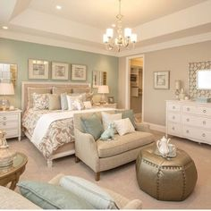 Accent Wall Ideas You'll Surely Wish to Try This at Home Bedroom, Living Room,.Accent Wall Ideas You'll Surely Wish to Try This at Home Bedroom, Living Room,.Home Wall Ideas Master Bedroom Design, Dream Bedroom, Home Decor Bedroom, Diy Bedroom, Bedroom Green, Spa Like Bedroom, Master Suite, Brick Bedroom, Night Bedroom