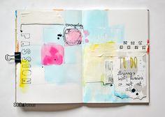 made by Olennka ► SODAlicious art journal challenge No26