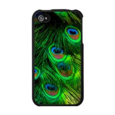 Peacock iphone case cover