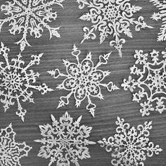 paper snowflakes by Ann Chris
