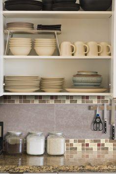 Decorados simples en las paredes de la #cocina #Corona inspira