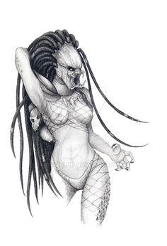 Female Predator by Rubi