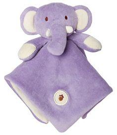 mynatural organic LOVIE BLANKIE {Elephant}