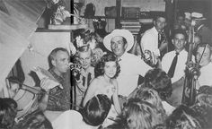Opening day of the western store owned by Hank Williams, Sr. on Commerce Street - June 16, 1951.