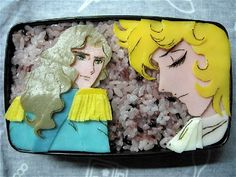Rose of Versailles bento