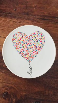 Fantastic No Cost diy Pottery Designs Concepts 25 ingenious craft ideas for DIY gifts for Christmas – Pottery Painting Designs, Pottery Designs, Paint Designs, Pottery Ideas, Painting Pottery Plates, Dot Painting, Ceramic Painting, Ceramic Art, Porcelain Ceramics