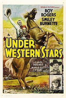 Under Western Stars (1938). D: Joseph Kane. Selected in 2009.