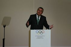 President Thomas Bach has claimed no decision has yet been made on who will host the 2024 and 2028 Olympic and Paralympic Games